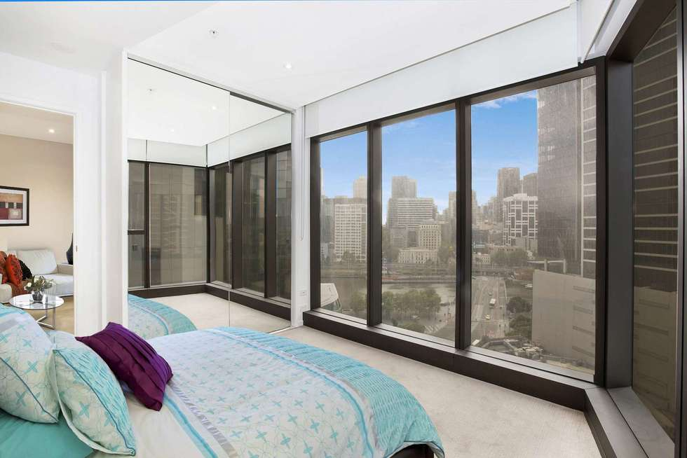 Second view of Homely apartment listing, 3414/9 Power Street, Southbank VIC 3006
