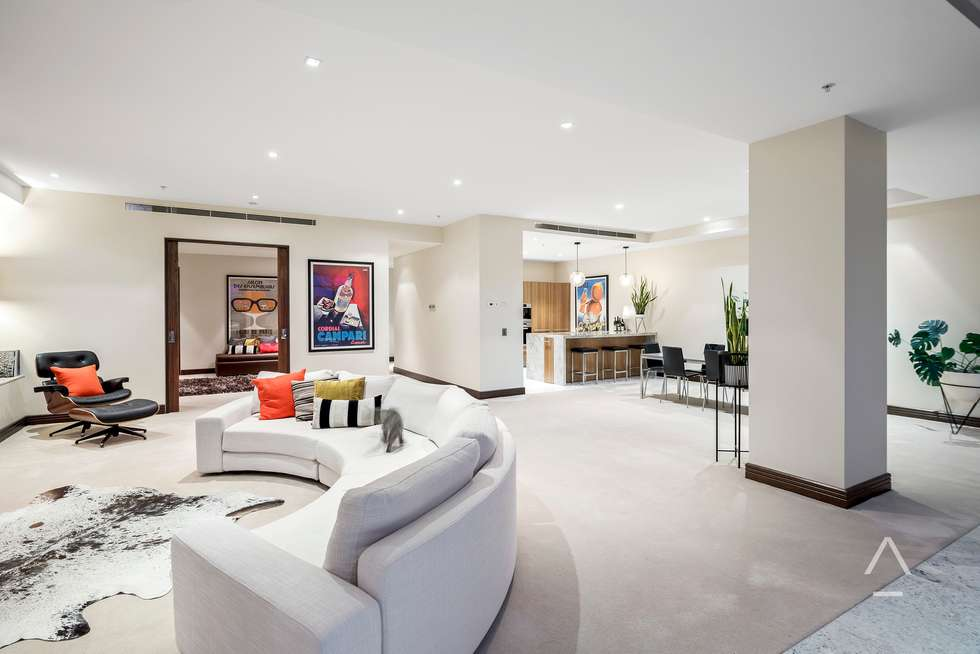 Third view of Homely apartment listing, 702/430 St Kilda Road, Melbourne VIC 3000