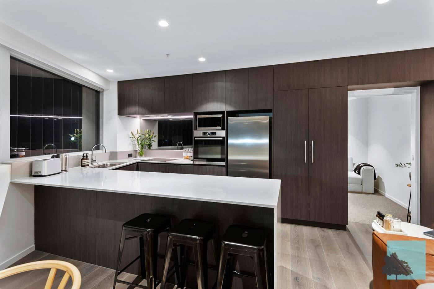 Fifth view of Homely apartment listing, 1413/70 Longland Street, Newstead QLD 4006
