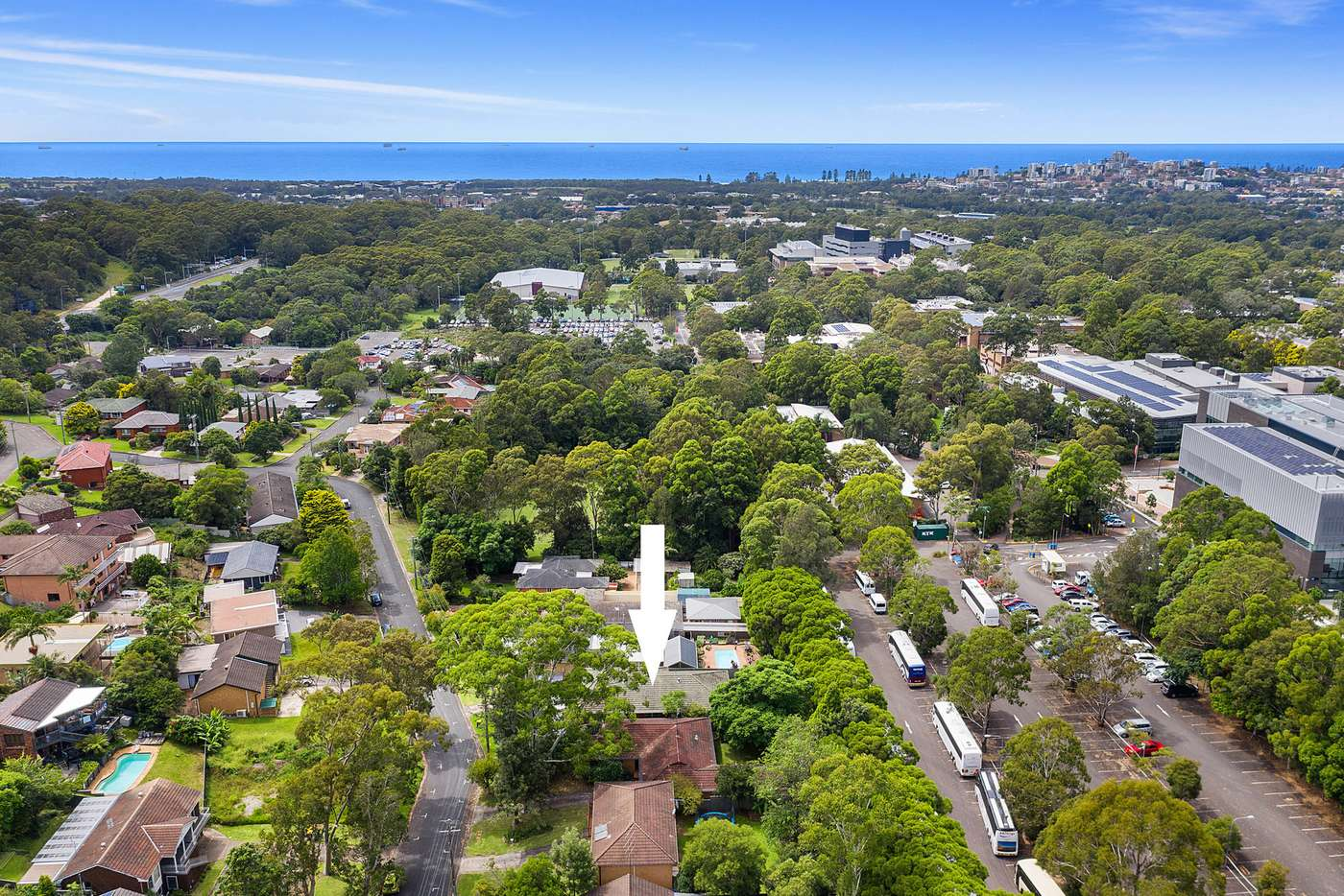 Main view of Homely semiDetached listing, 15 Dallas Street, Keiraville NSW 2500