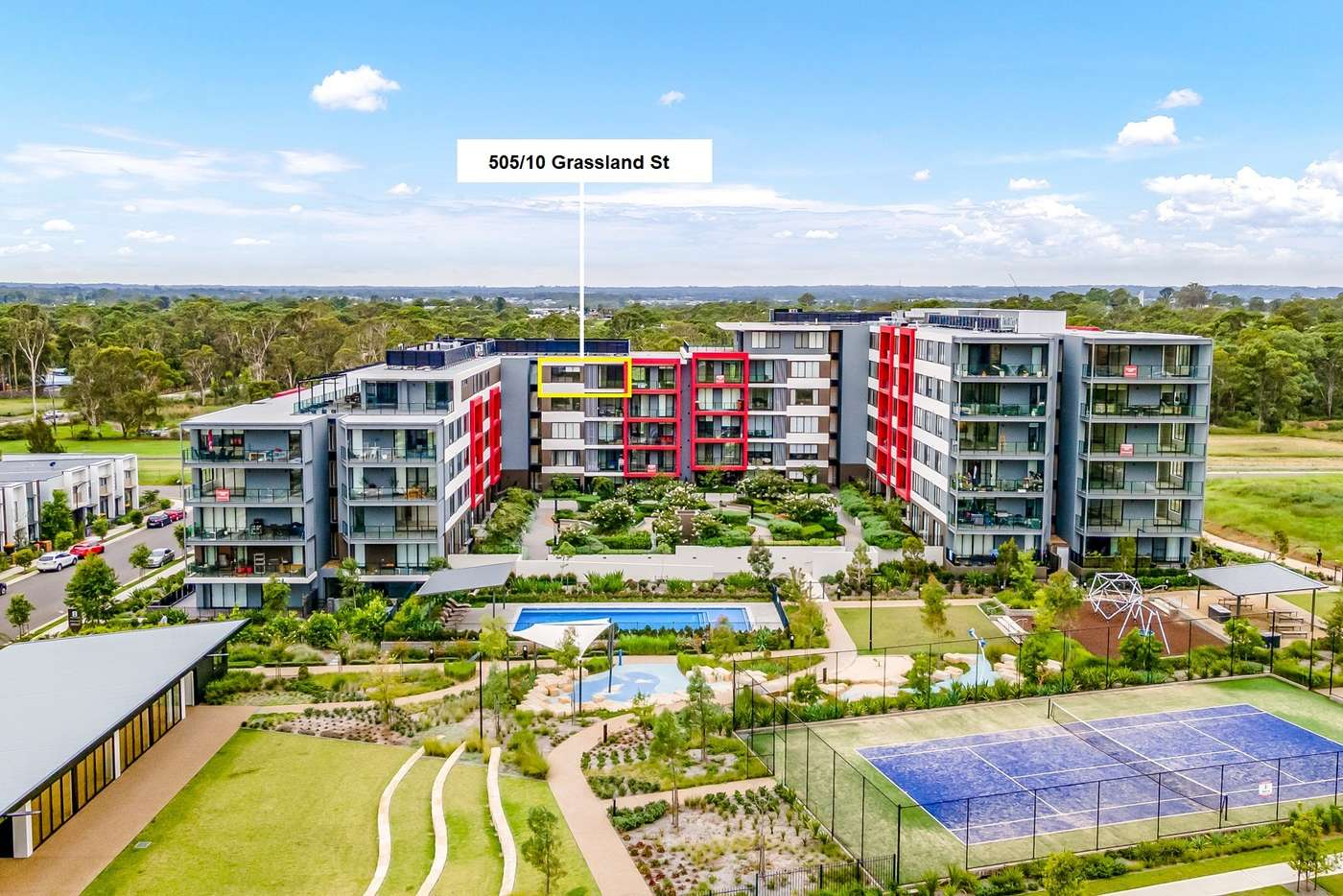 Main view of Homely unit listing, 505/10 Grassland Street, Rouse Hill NSW 2155