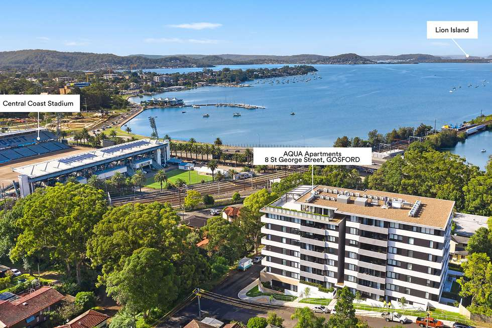 Second view of Homely apartment listing, Level 4/403/8 St George Street, Gosford NSW 2250