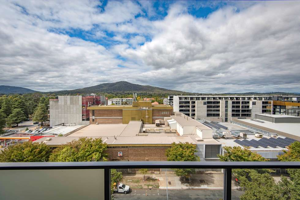 Second view of Homely apartment listing, 703/53 Mort Street, Braddon ACT 2612
