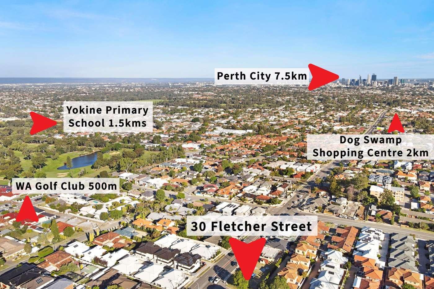 Main view of Homely residentialLand listing, 30 Fletcher Street, Yokine WA 6060