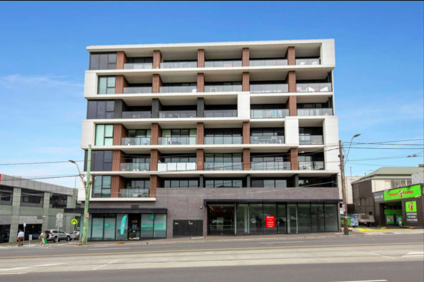 Main view of Homely apartment listing, 306/255 Racecourse Road, Kensington VIC 3031