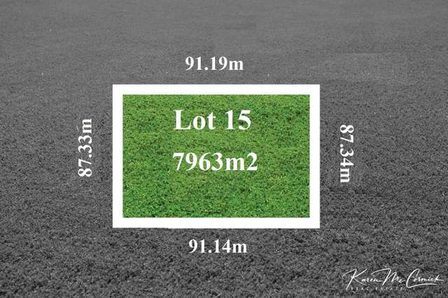 LOT 15 Peppertree Hill Road, Longford VIC 3851
