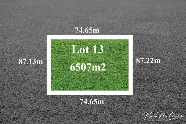 LOT 13 Peppertree Hill Road, Longford VIC 3851