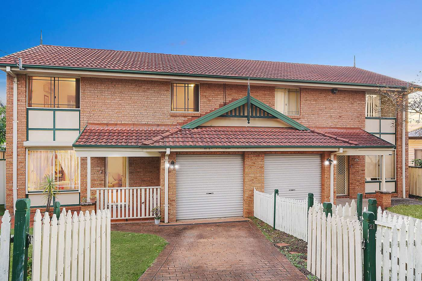 Main view of Homely semiDetached listing, 21 Jersey Avenue, Mortdale NSW 2223