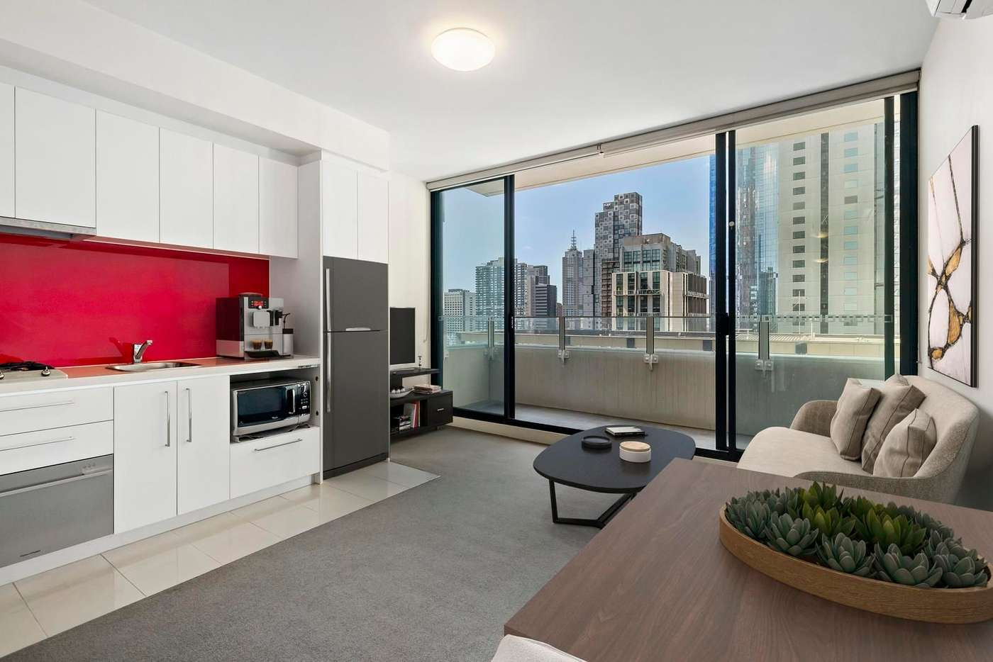 Main view of Homely apartment listing, 2012/25 Therry Street, Melbourne VIC 3000