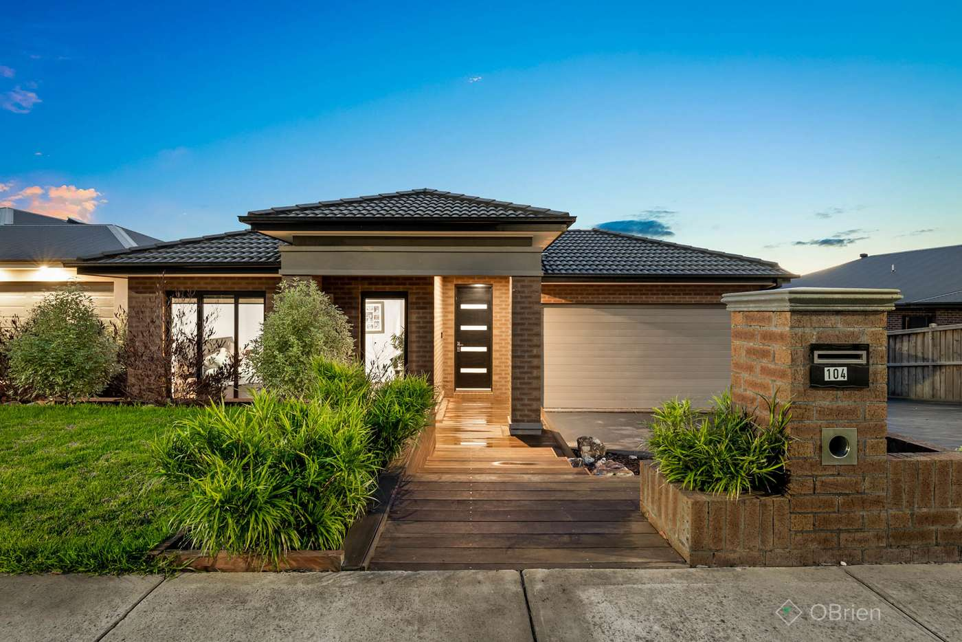 Main view of Homely house listing, 104 Jackson Drive, Drouin VIC 3818