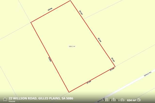 22 Willson Road, Gilles Plains SA 5086