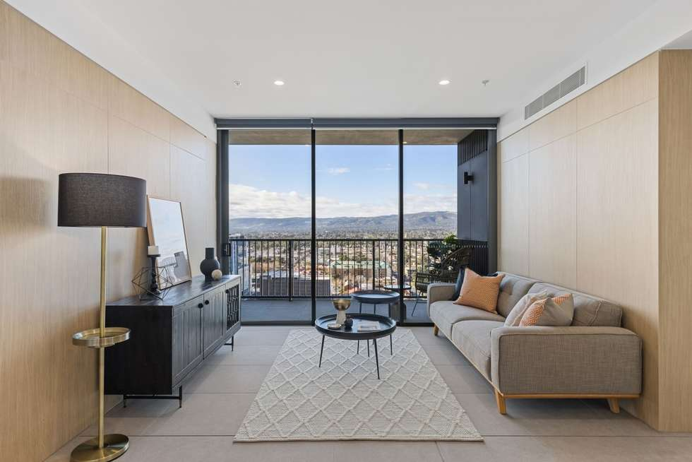 Second view of Homely apartment listing, 2102/17 Penny Place, Adelaide SA 5000