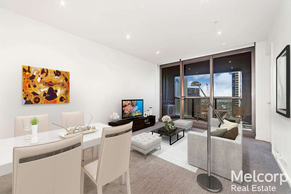 Second view of Homely apartment listing, 2810/9 Power Street, Southbank VIC 3006