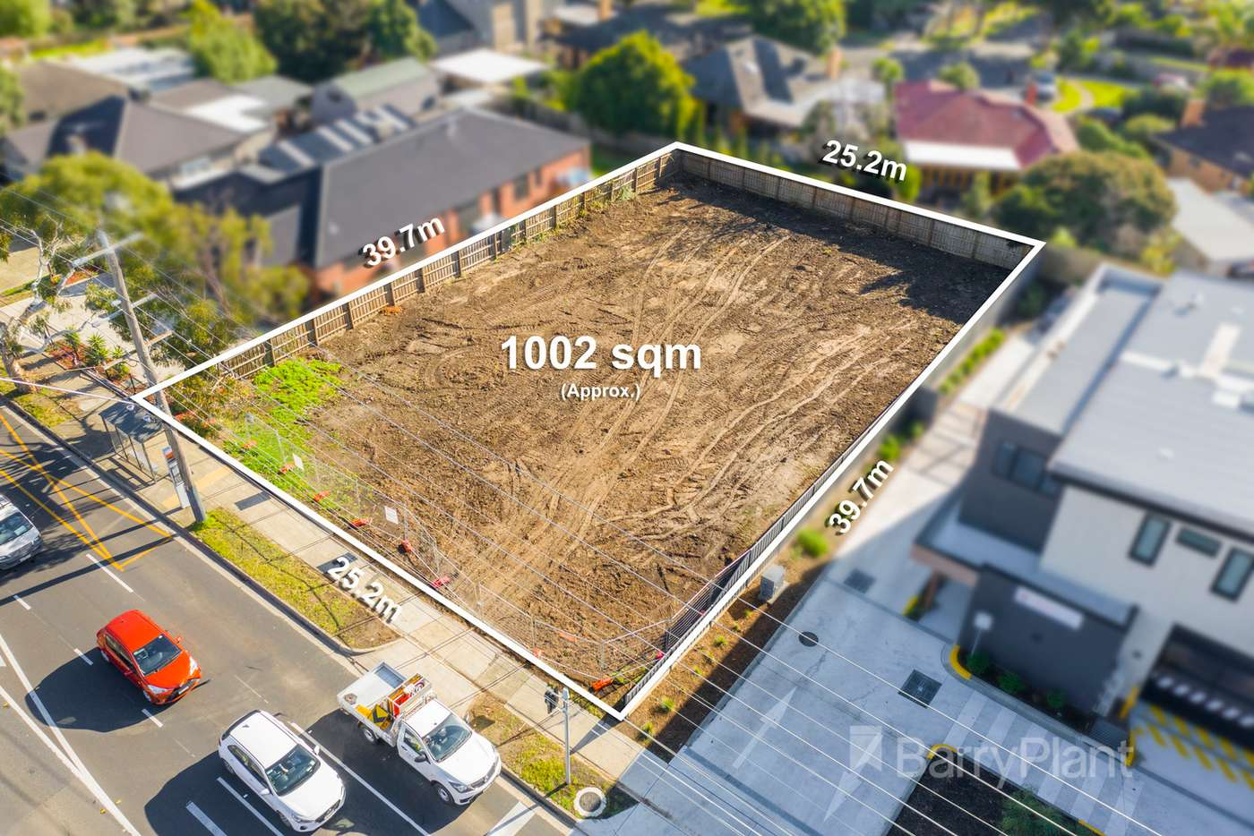 Main view of Homely residentialLand listing, 312 Grimshaw Street, Watsonia North VIC 3087