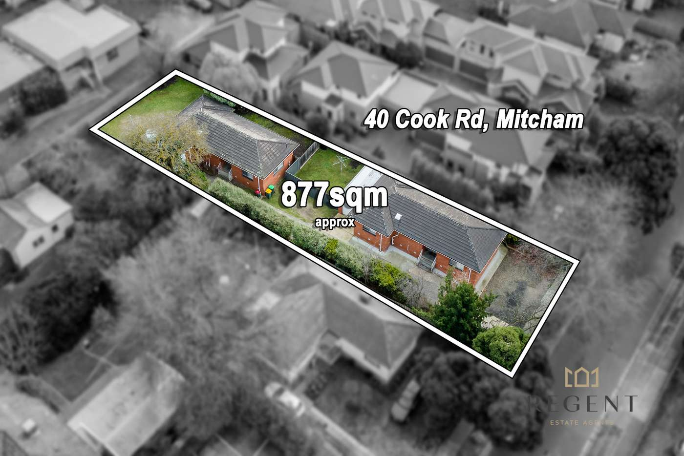 Main view of Homely house listing, 40 Cook Road, Mitcham VIC 3132