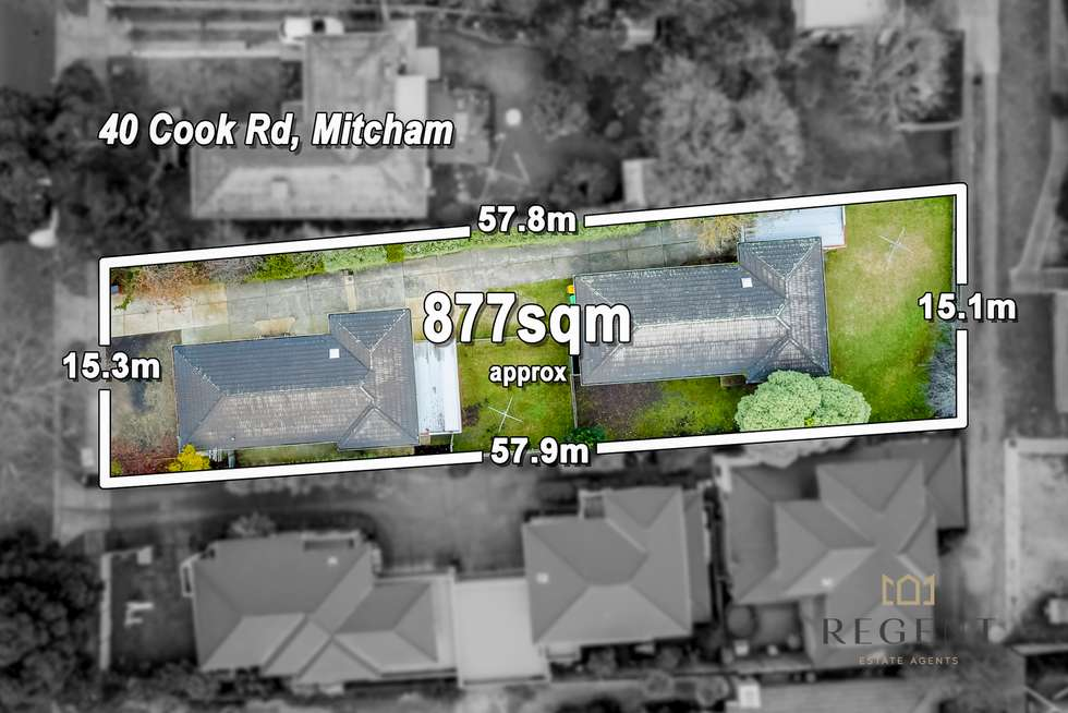 Second view of Homely house listing, 40 Cook Road, Mitcham VIC 3132