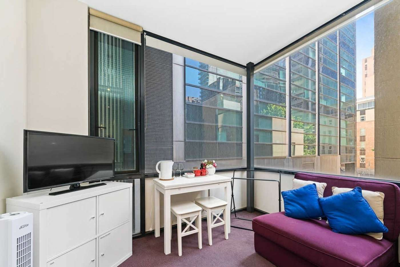 Main view of Homely studio listing, 204/68 Hayward Lane, Melbourne VIC 3000