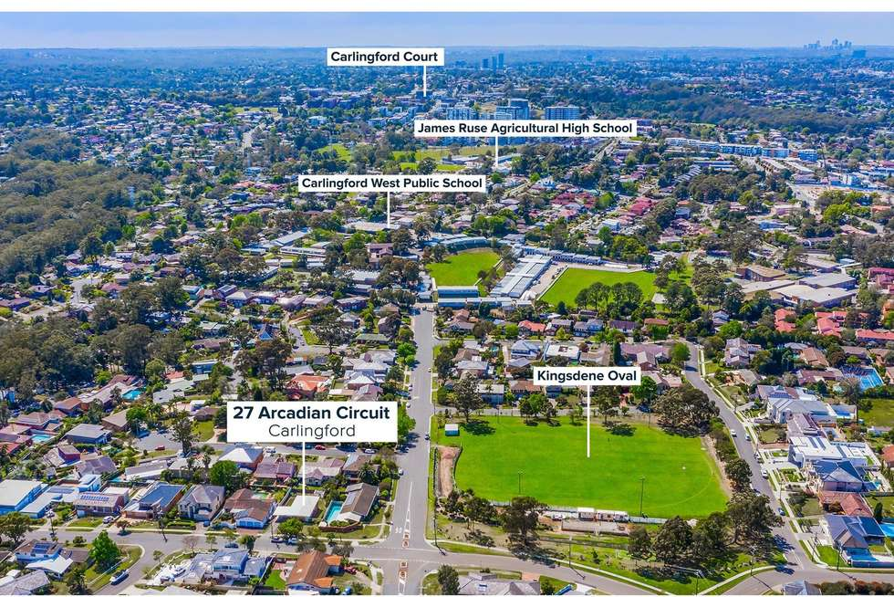 Third view of Homely house listing, 27 Arcadian Circuit, Carlingford NSW 2118