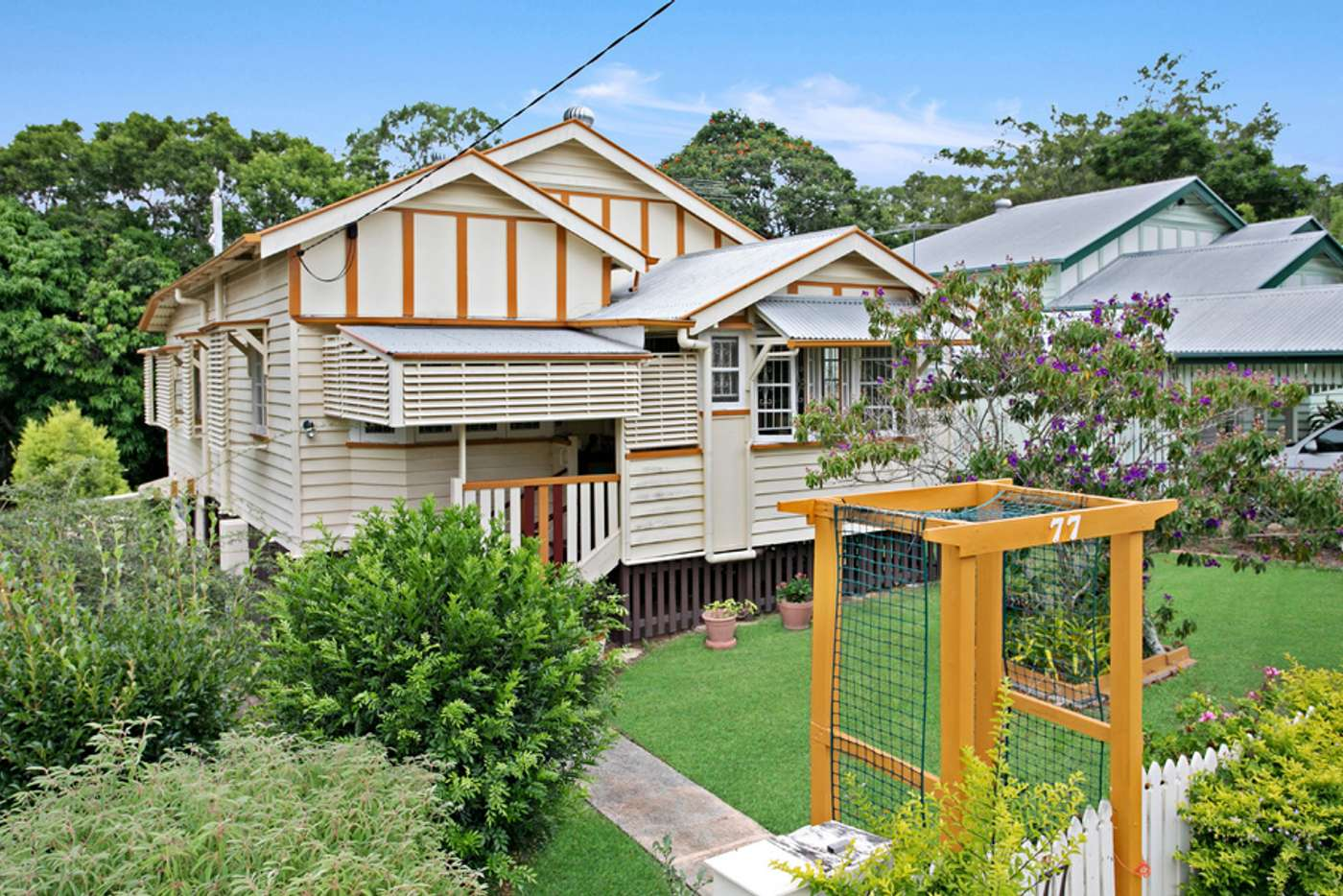 Main view of Homely house listing, 77 Davidson Street, Newmarket QLD 4051