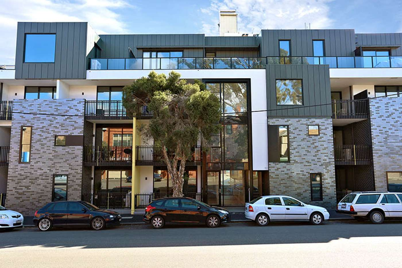 Main view of Homely apartment listing, 206/5-13 Stawell St, North Melbourne VIC 3051