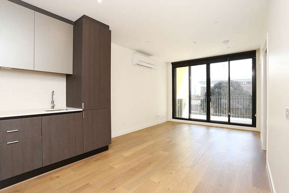 Second view of Homely apartment listing, 206/5-13 Stawell St, North Melbourne VIC 3051
