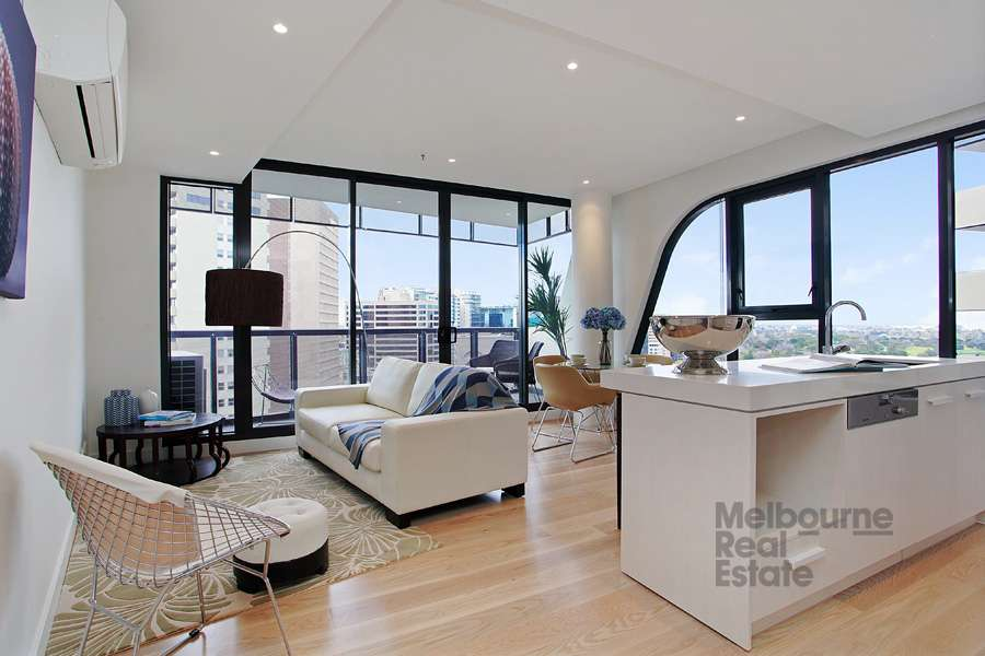 Main view of Homely apartment listing, 1308/38 Albert Road, South Melbourne, VIC 3205