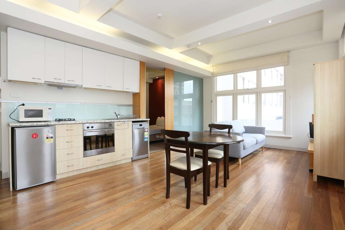 Main view of Homely unit listing, 502/292-296 Flinders Street, Melbourne VIC 3000