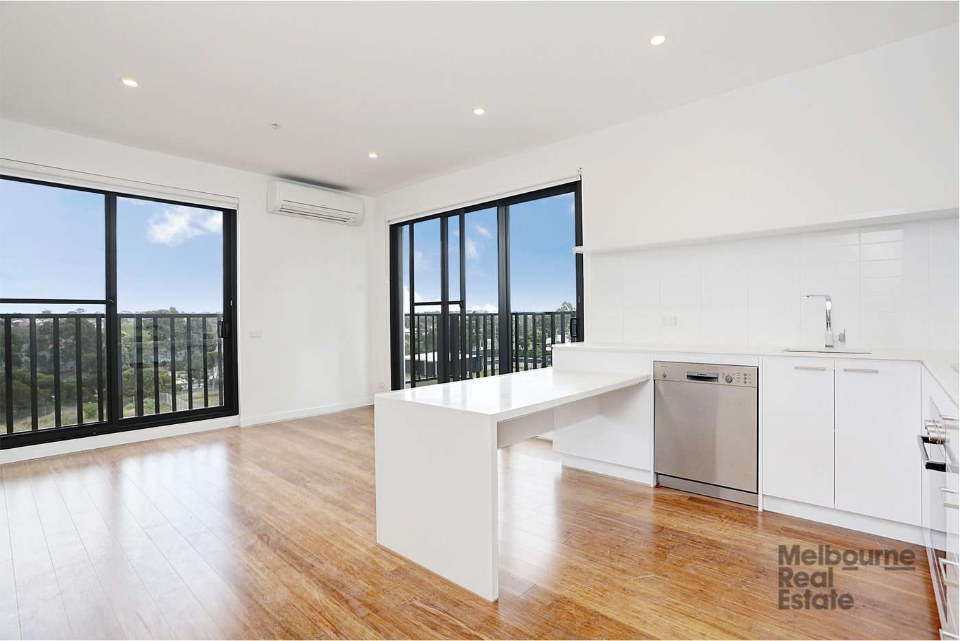 Main view of Homely apartment listing, 308/12 Olive York Way, Brunswick West VIC 3055