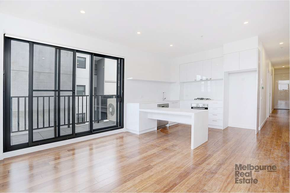 Second view of Homely apartment listing, 308/12 Olive York Way, Brunswick West VIC 3055