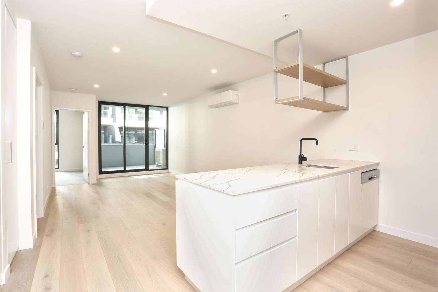 Main view of Homely apartment listing, 407/1 Olive York Way, Brunswick West VIC 3055