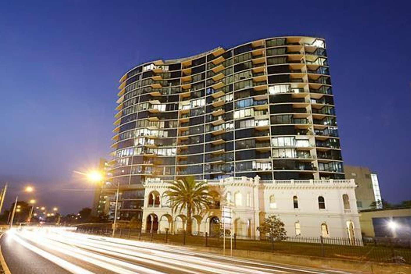 Main view of Homely apartment listing, 710/83 Queens Road, Melbourne VIC 3004