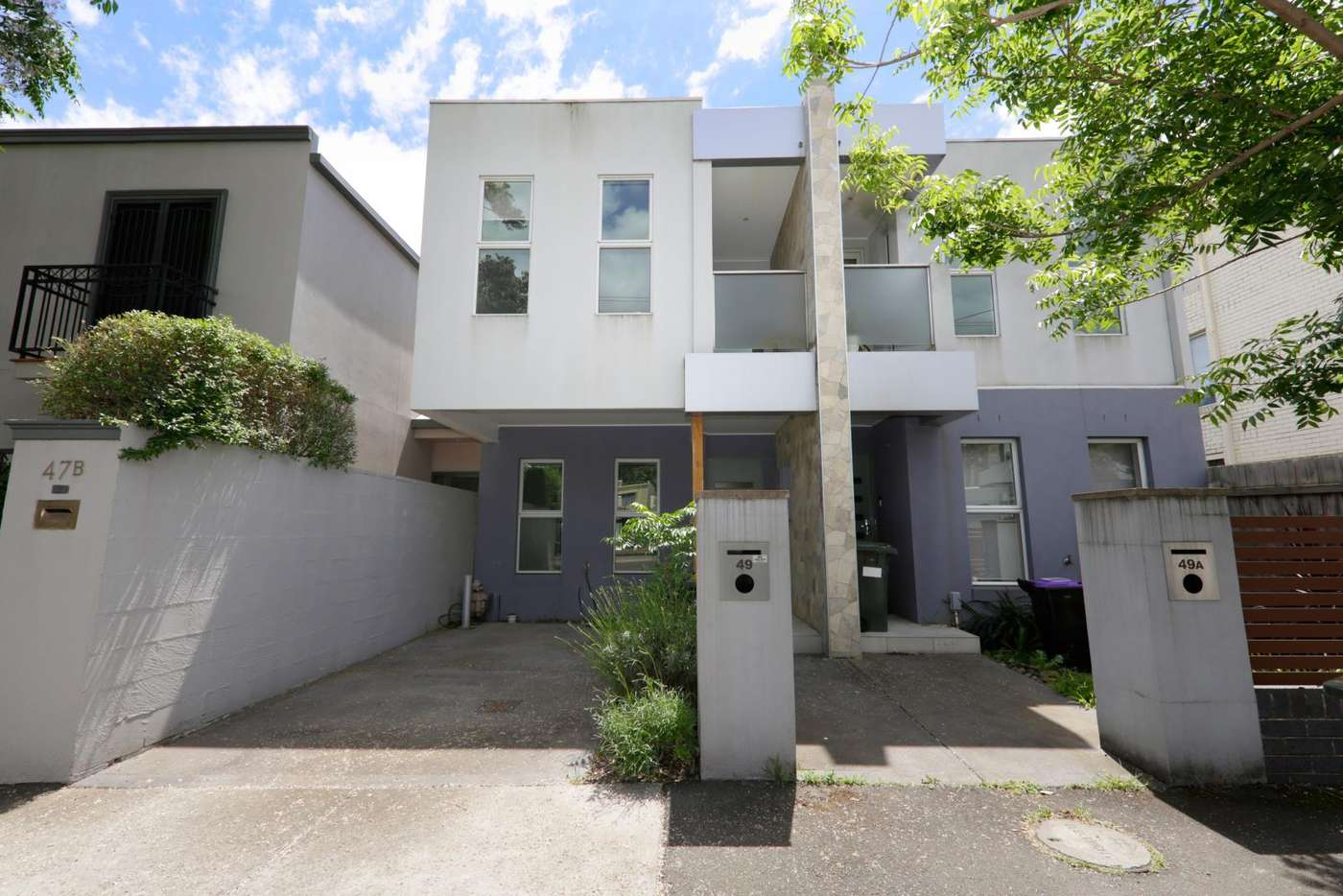 Main view of Homely townhouse listing, 49 Somerset Street, Richmond VIC 3121