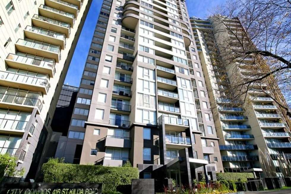 Second view of Homely apartment listing, 167/416 St Kilda Road, Melbourne VIC 3004