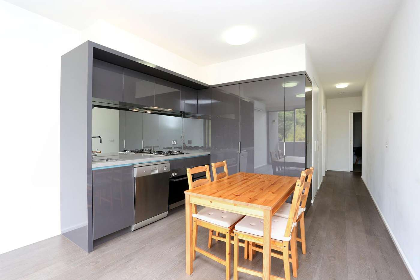 Fifth view of Homely apartment listing, 204/92 Cade Way, Parkville VIC 3052