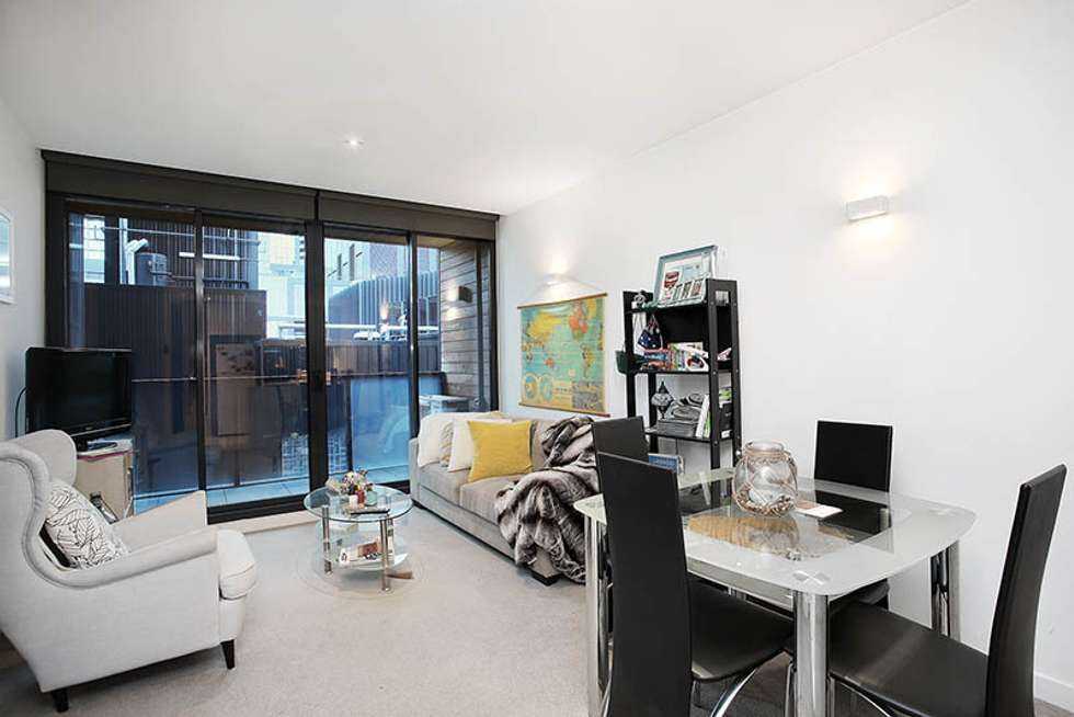 Second view of Homely apartment listing, 604/108 Flinders St, Melbourne VIC 3000