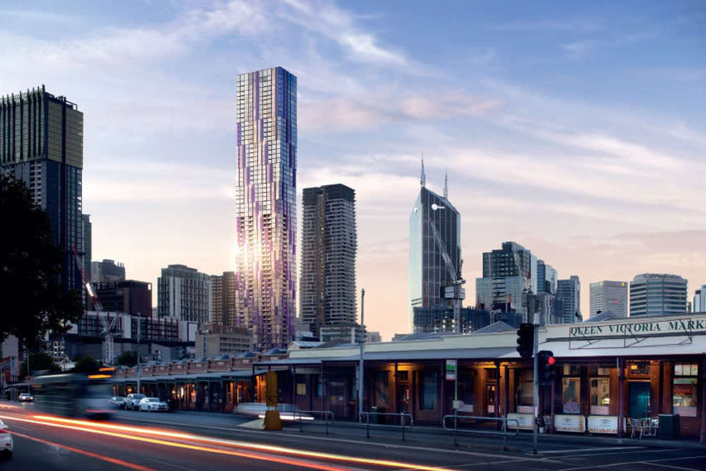 Main view of Homely apartment listing, 450 Elizabeth Street, Melbourne VIC 3000