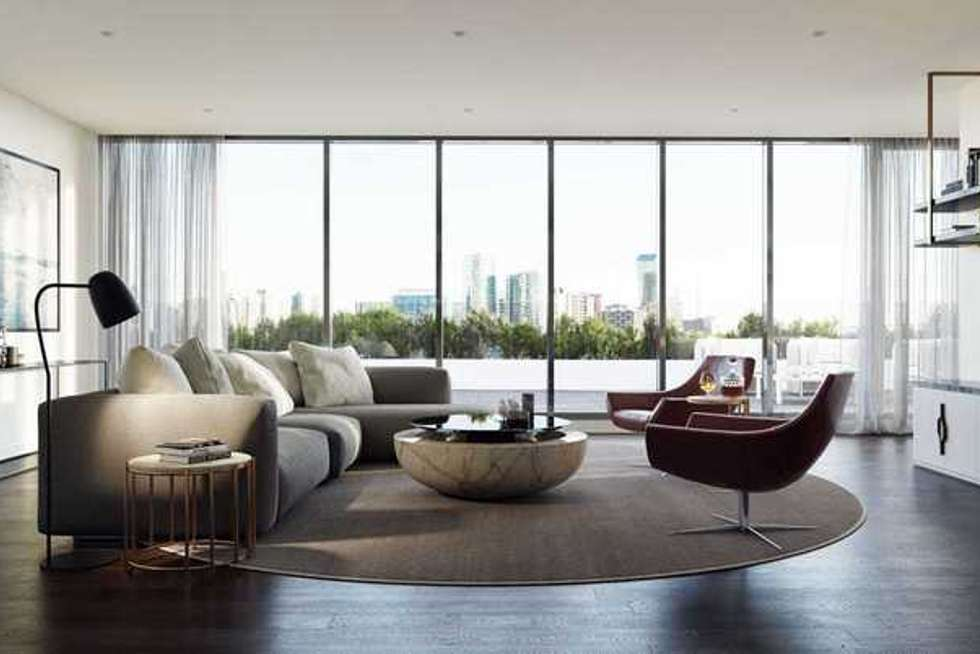 Second view of Homely apartment listing, 2909/500 Elizabeth Street, Melbourne VIC 3000