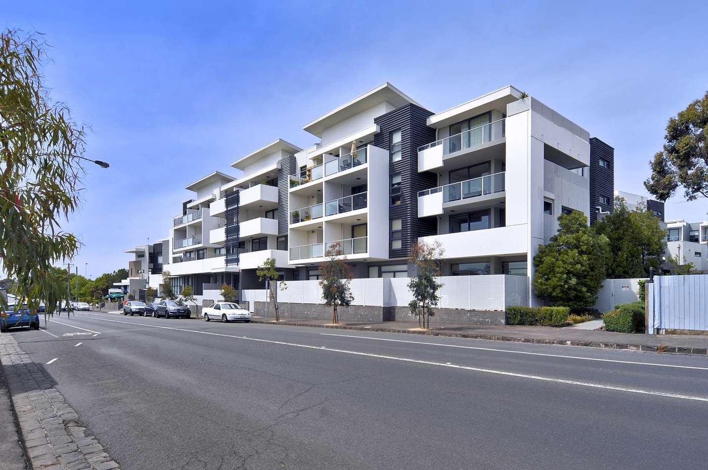 Main view of Homely apartment listing, D308/460 Victoria Street, Brunswick, VIC 3056