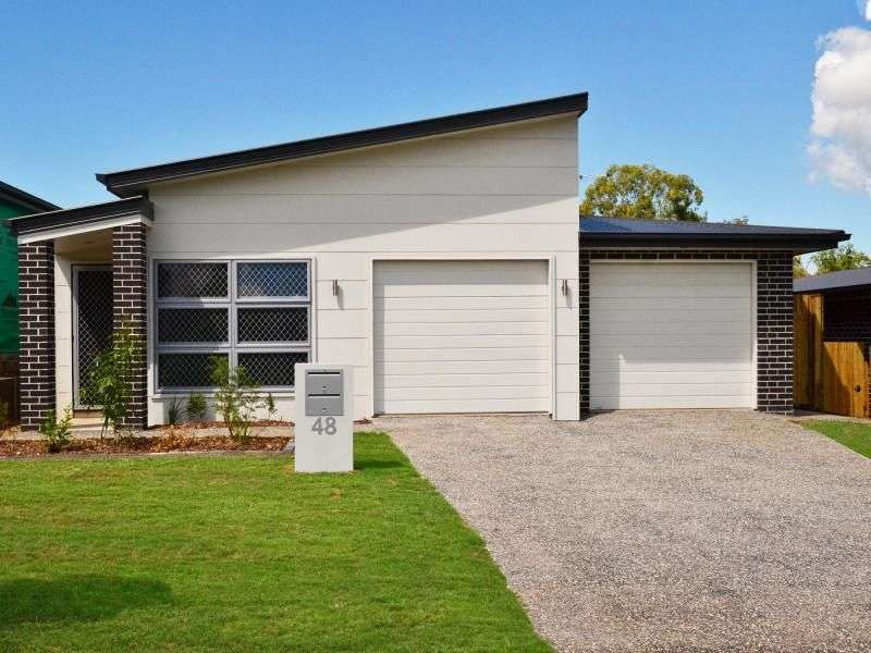 Main view of Homely semidetached listing, 48 Bowerbird Crescent, Dakabin, QLD 4503