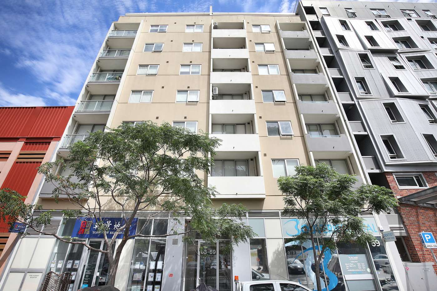 Main view of Homely apartment listing, 506/63-65 Bouverie St, Carlton, VIC 3053
