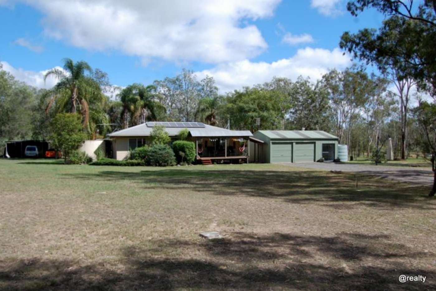 Main view of Homely acreageSemiRural listing, 128 George Street, Nanango QLD 4615