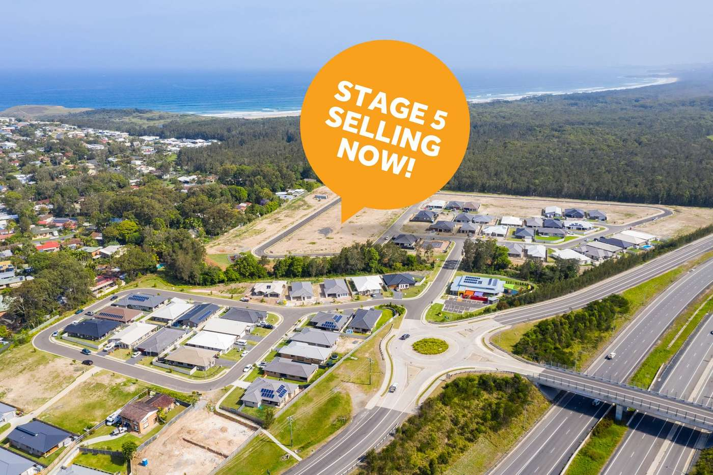 Main view of Homely residentialLand listing, Lot 567 Como Avenue, Emerald Beach NSW 2456
