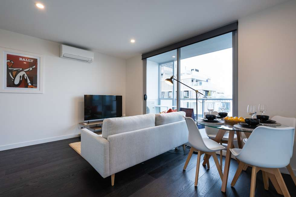 Fourth view of Homely apartment listing, 617/14 David Street, Richmond VIC 3121