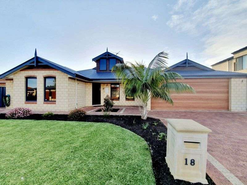 Main view of Homely house listing, 18 Saint Cloud Way, Port Kennedy, WA 6172