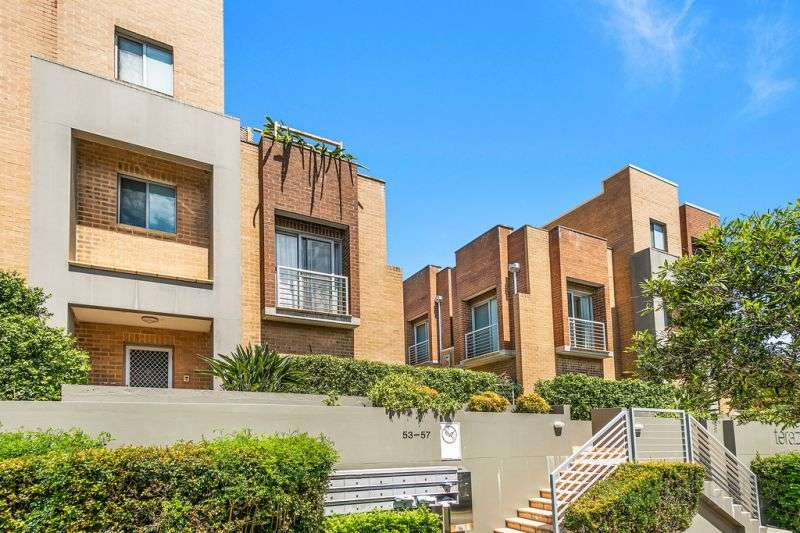 Main view of Homely townhouse listing, 12/53-57 West Street, Hurstville, NSW 2220