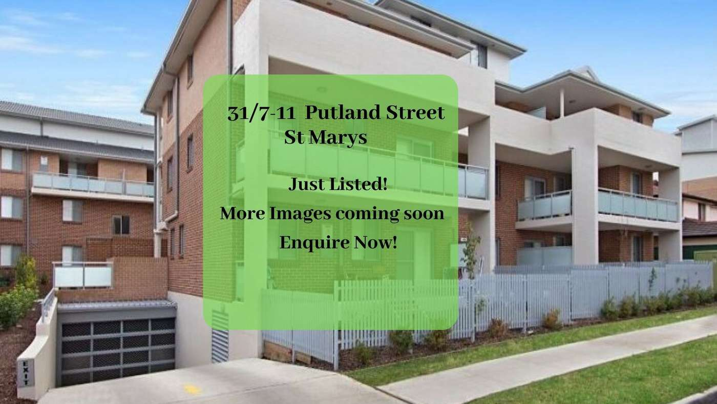 Main view of Homely unit listing, 31/7-11 Putland Street, St Marys, NSW 2760