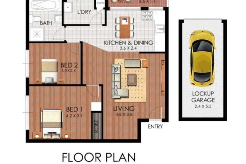 Second view of Homely unit listing, 1/12-14 Mary Street, Lidcombe NSW 2141