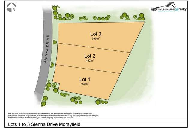 LOT Lot 1 to 3/7-9 Sienna Drive, Morayfield QLD 4506