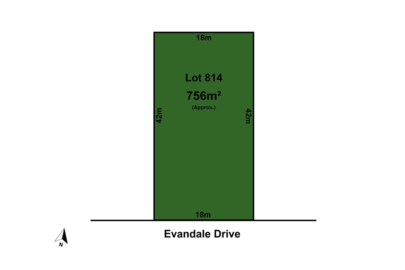 Main view of Homely residentialLand listing, Lot 814 Evandale Drive, Truganina VIC 3029