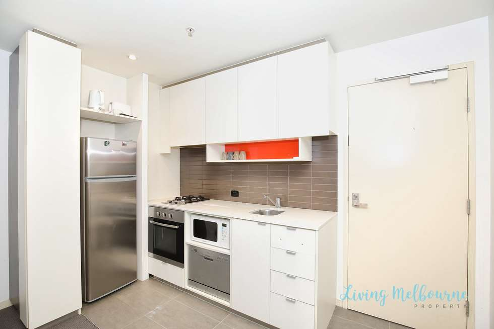 Second view of Homely apartment listing, 407/253 Franklin Street, Melbourne VIC 3000
